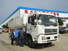 China dongfeng 4x2 LHD 8 ton bulk animal feed truck for sale, best price dongfeng brand feed truck mounted on truck for sale factory