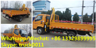 2019s best selling cheaper price T-KING diesel mobile  truck with crane for sale, 2.5tons telescopic boom mounted crane