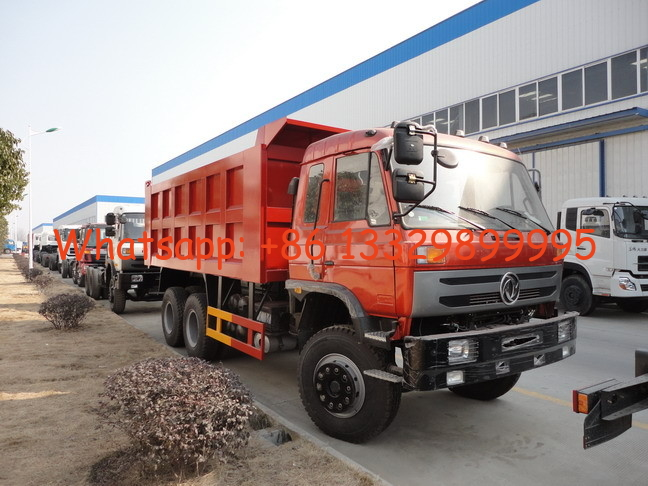 hot sale dongfeng brand LHD 6*4 25tons dump tipper truck, best price dongfneg 210hp diesel 20tons-25tons tipper truck