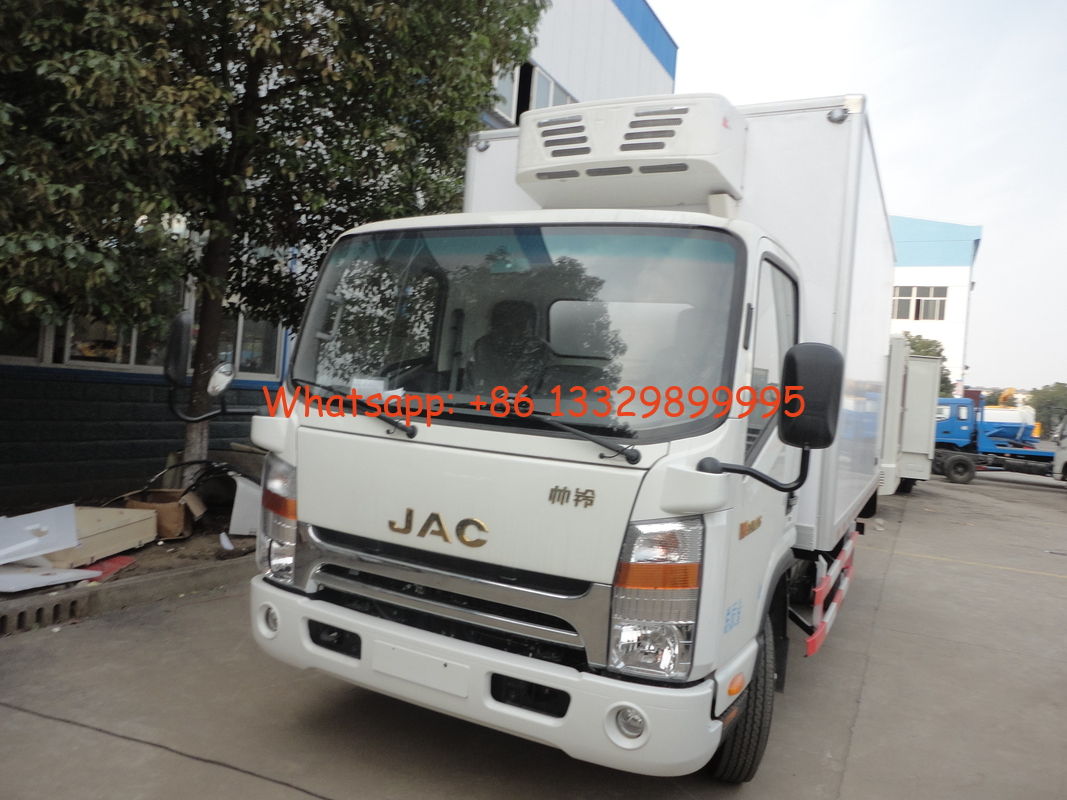 2019s new cheapest price JAC 4*2 3-5tons refrigerted truck for sale, factory sale best price JAC 3tons cold room truck