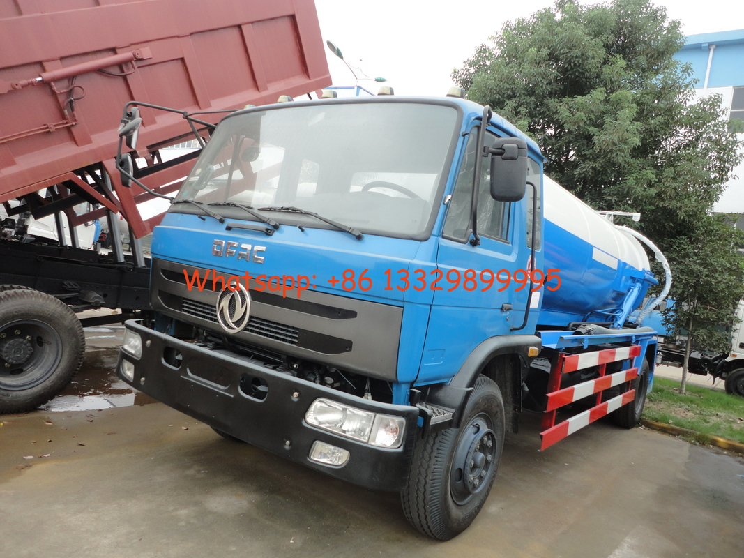 Dongfeng 4*2 9.cbm sewage suction truck/sewage truck for sale, factory sale cheaper price 9,000L sludge tank truck