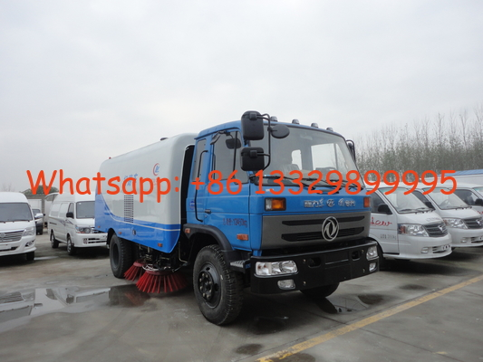 China Factory sale best price Dongfeng 153 190hp diesel road sweeping vehicle, hot sale cheaper dongfeng street sweeper truck factory
