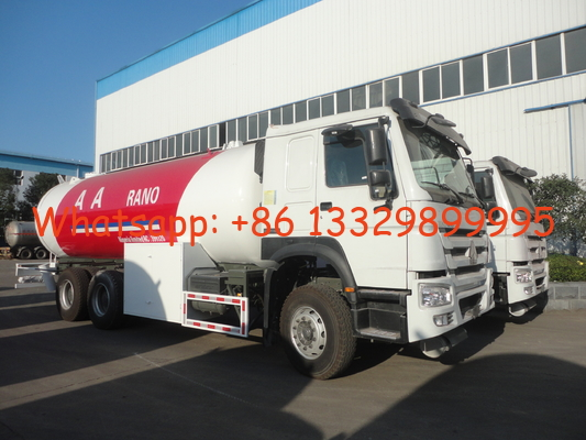 China Factory sale bottom price HOWO 25M3 LPG bobtails Truck, HOT SALE! SINO TRUK HOWO LHD lpg gas lpg gas dispenser truck factory