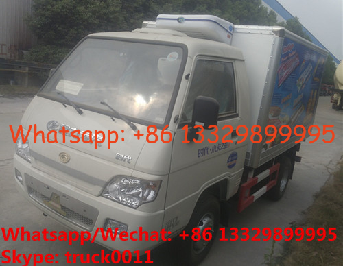 China 2019s good price forland brand new 4*2 RHD 2tons refrigerated truck for sale, factory sale RHD 2tons cold room truck distributor