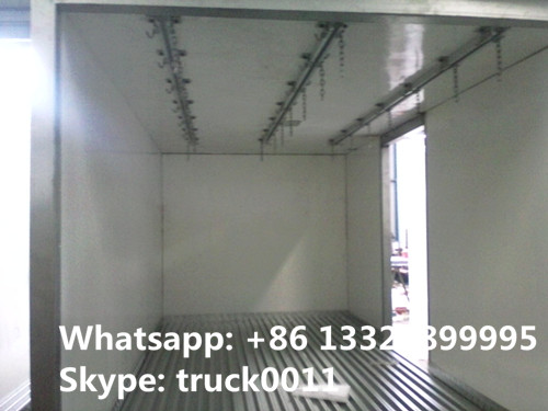 China best price JMC 4*2 LHD refrigerated truck for sale, factory sal best price JMC cold room truck for fruits and meat