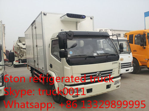 JAC 4*2 refrigerated truck/chilled box van/freezer truck/vegetable delivery truck, best price China cold room truck