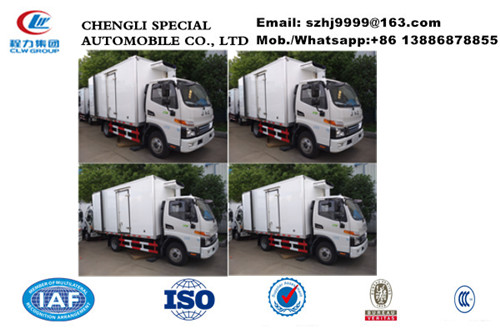 2019s JAC brand 3-5tons cold room truck with US CARRIER reefer for sale, factory sale best price JAC refrigerated truck