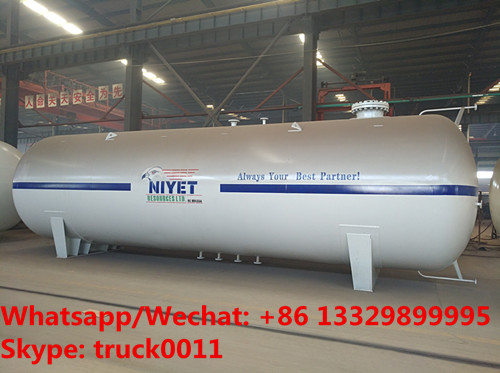 2020s customized 50cbm surface lpg gas storage tank for NIYET RESOURCES LTD. in Nigeria, 50m3 lpg gas tank for sale