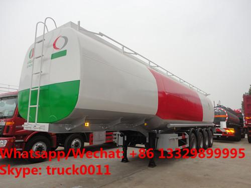 4 Axles Semi Trailer Steel Fuel Tanker Manufacturers With BPW Axles, CLW brand 4 axles 35m3-70m3 oil tank semitrailer