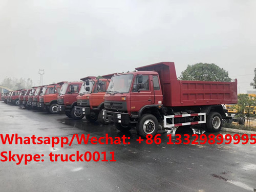 2018s YEAR-END PROMOTION!best price dongfneg 4*2 LHD/RHD 190hp diesel DUMP TIPPER  TRUCK for sale, dump truck supplier