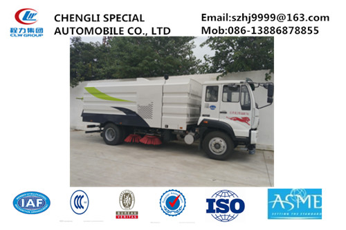 Factory sale good price SINO TRUK STEYR road sweeping vehicle for sale, road cleaning vehicle for sale, street sweeper