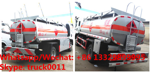 2018s best price FAW brand 4*2 RHD 7,000Liters fuel dispensing truck, oil bowser vehicle, refueler tuck for sale
